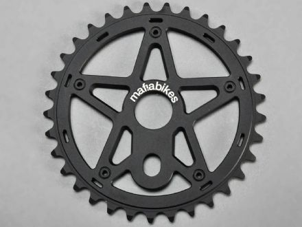 Mafia Gully Sprocket Black 39T